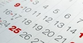 Programma settimanale 12-26/01/2020 (valido per 2 settimane)