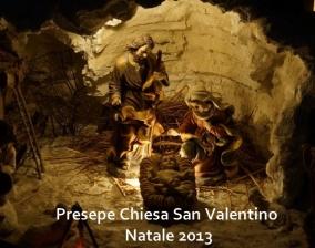Presepe Parrocchia San Valentino