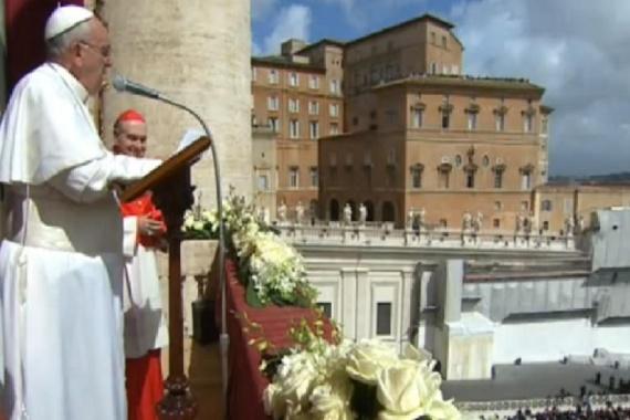 Richiesta di Papa Francesco