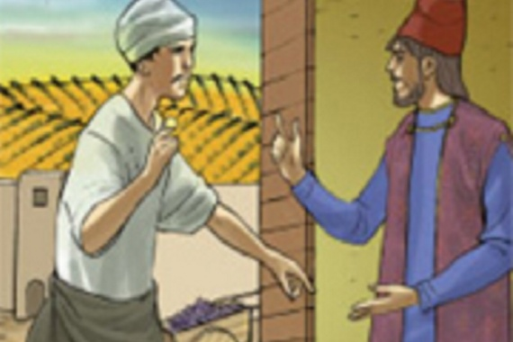 21.09.2014 – 25^ Tempo Ordinario: Sei invidioso perché io sono buono? (Mt 20,15)