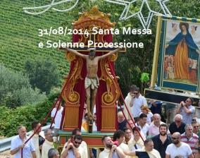 31/08/2014 Santa Messa e Solenne Processione