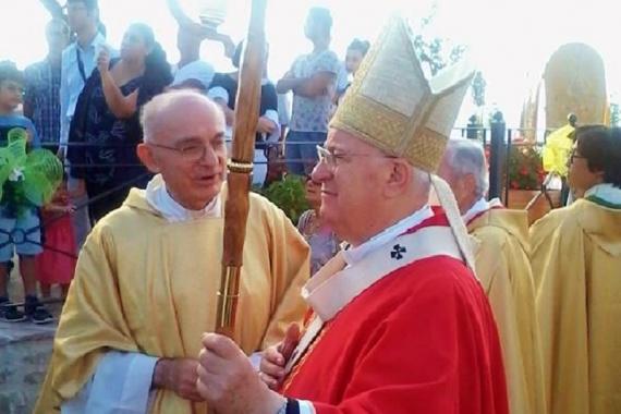 Il cardinale Bassetti a Villa per il Santissimo Crocifisso (Corriere dell'Umbria )