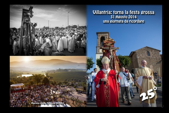 Copie del DVD Solenne Processione Villantria 31 Agosto 2014