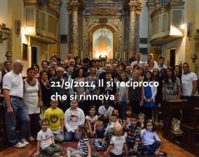 21/09/2014 Il sì reciproco che si rinnova