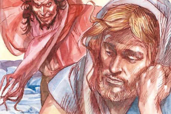 22.02.2015 – 1^ Domenica di Quaresima: Lo Spirito sospinse Gesù nel deserto (Mc 1,12)