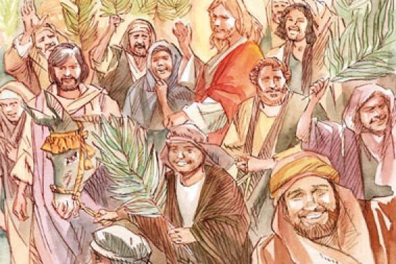 29.03.2015 – Domenica delle Palme: Davvero quest'uomo era Figlio  di Dio! (Mc 15,39)
