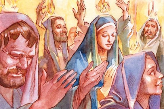24.05.2015 – Pentecoste: Lo Spirito che da la vita!
