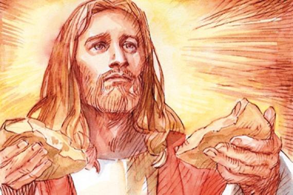 07.06.2015 – SS Corpo e Sangue di Cristo: Prendete, questo è il mio corpo (Mc 14,22)
