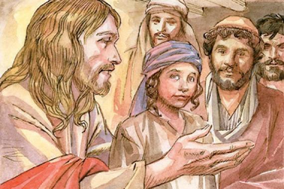 20.09.2015 – 25^ Tempo Ordinario: Il figlio dell'uomo viene consegnato  (Mc 9,31)