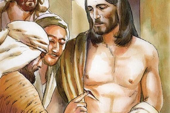 23.04.2017 – 2^ Domenica di Pasqua: I discepoli gioirono al vedere il Signore (Gv 20,20)