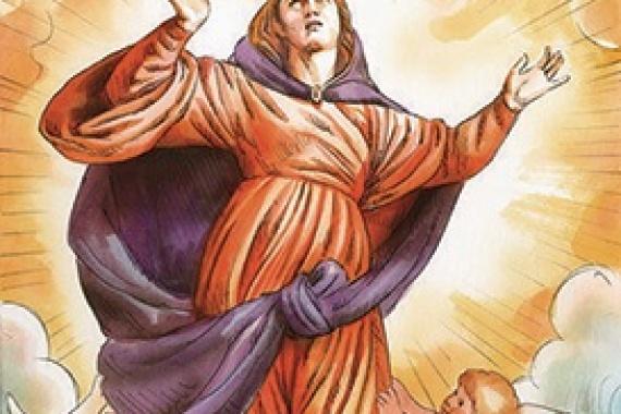 15.08.2017 – Assunzione di Maria: MARIA VIVE IN CIELO! (Lc 1,39-56)