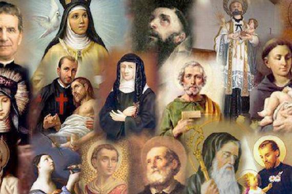 Dio Padre con tutti i suoi figli!