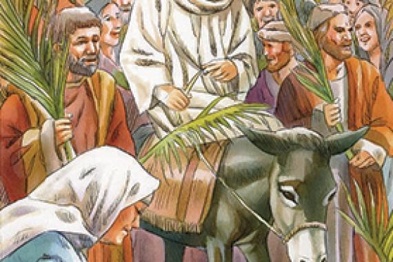 25.03.2018 – Le Palme: Davvero quest'uomo era Figlio di Dio! (Mc 15,39)