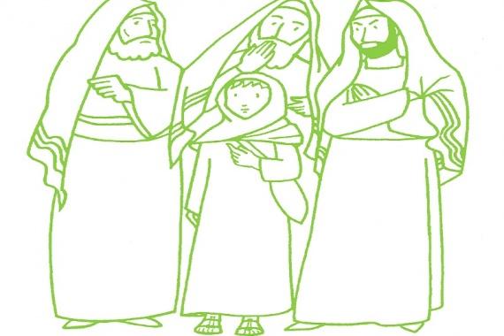 30.12.2018 – S. Famiglia  di Gesù, Maria e Giuseppe: DOPO TRE GIORNI TROVARONO GESÙ NEL TEMPIO
