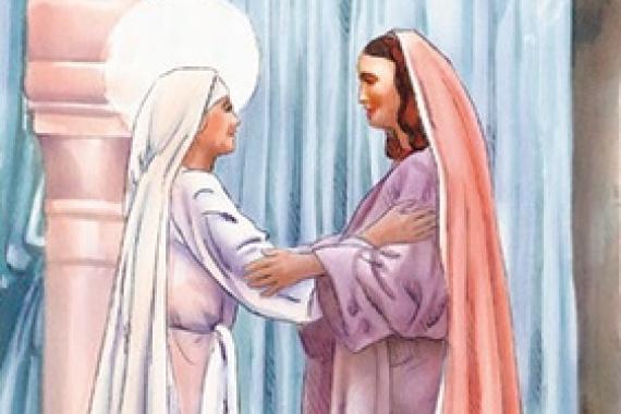 23.12.2018 – 4^ Avvento: A che cosa devo che la madre del mio Signore venga da me?  (Lc 1,43)