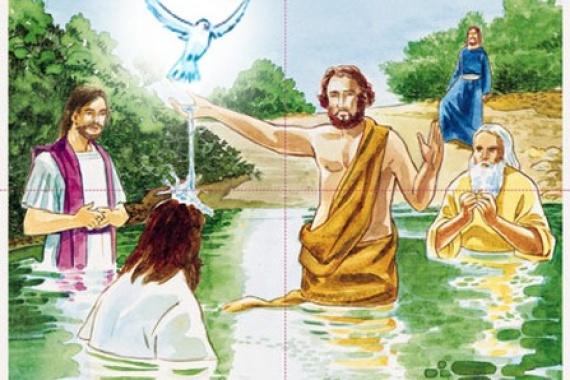 13.01.2019 – Battesimo del Signore: TU SEI MIO FIGLIO!