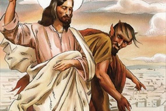 10.03.2019 – 1^ Quaresima: Gesù era guidato dallo Spirito nel deserto (Lc 4,1)