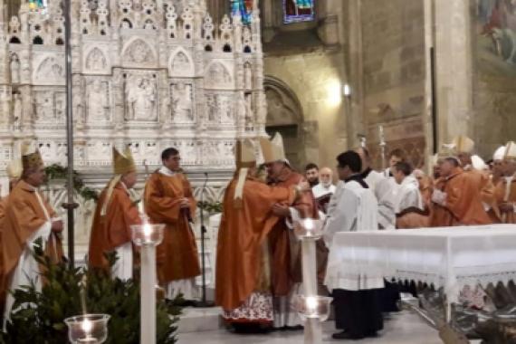 VESCOVO DI RICONCILIAZIONE, CHE PORTA NON DIVISIONE MA UNITÀ