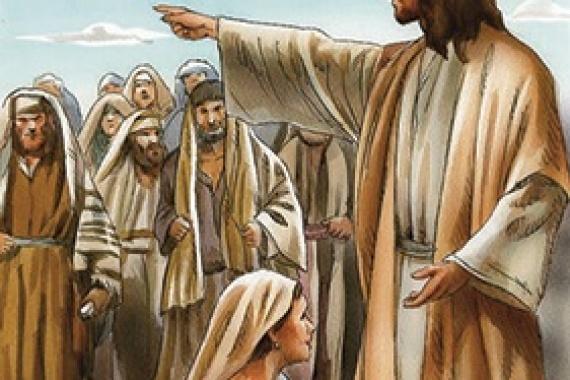 08.04.2019 – 5^ Quaresima: Gesù disse: neanch'io ti condanno (Gv 8,11)