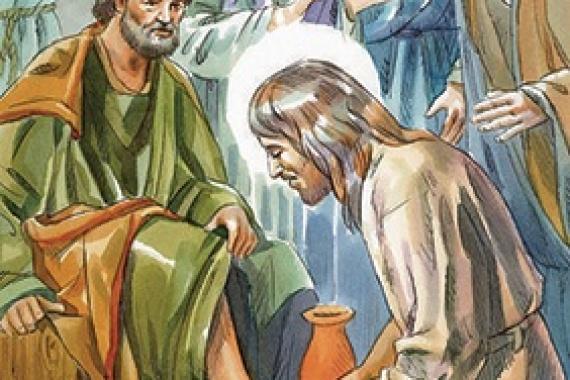 18.04.2019 – Giovedì Santo: SI MISE A LAVARE I PIEDI