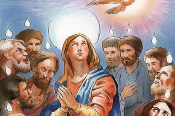 09.06.2019 – Pentecoste: Lo Spirito Santo vi insegnerà ogni cosa (Gv 14,26)