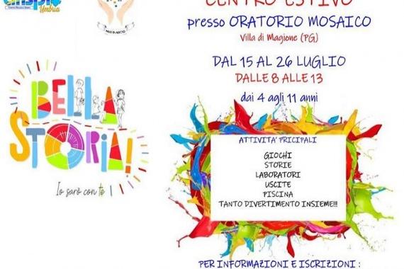 "Oratorio ""Mosaico"": centro estivo ""BELLA STORIA"""