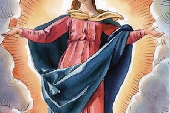 Maria Assunta in cielo – Messa del Giorno: 15.08.2019 – Il valore al corpo in cui vive la Parola