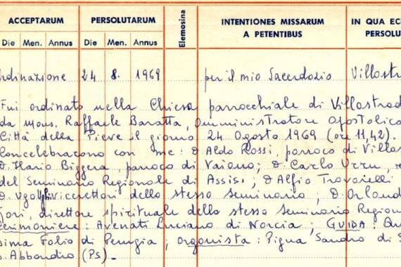 25.08.2019 – 21^ Tempo Ordinario: QUEL 24 AGOSTO 1969!