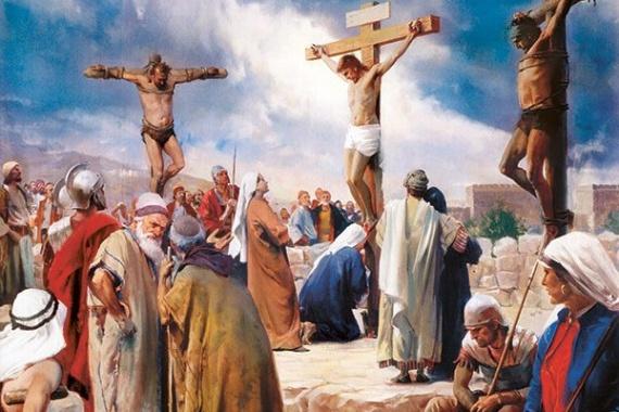 24.11.2019 – 34^ Tempo Ordinario – Cristo Re: Era venuto per salire e non scendere dalla croce! – Lc  23,35-43