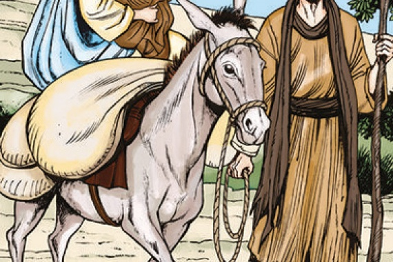 29.12.2019 – Santa Famiglia di Nazareth: Prendi con te il bambino e sua madre e fuggi in Egitto (Mt 2,13)