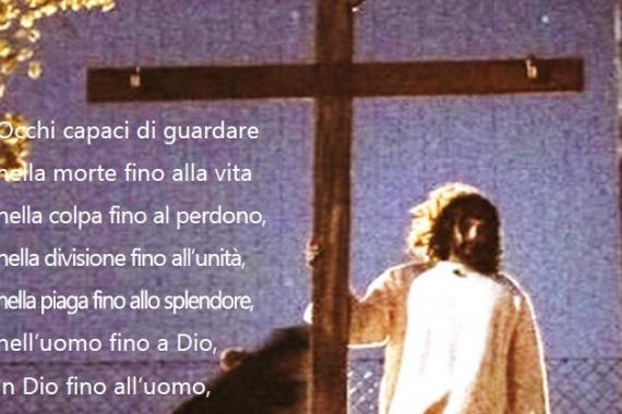 04.04.2021 – Domenica di Pasqua: Io auguro a noi occhi di Pasqua